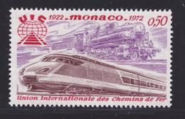MONACO N°  879 ** MNH Neuf Sans Charnière, TB (D6892) Train, Locomotive - Nuevos
