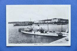 Cartolina Croazia - Pola - Il Porto - 1920 Ca. - Non Classificati