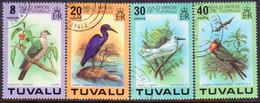 TUVALU 1978 SG #81-84 Compl.set Used Wild Birds - Tuvalu