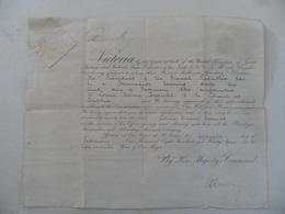 (Angleterre, Reine Victoria -1894) - Document Original -Reconnaissance Du Consul De France (Louis Marie BRAULT) à Dublin - Documentos Históricos