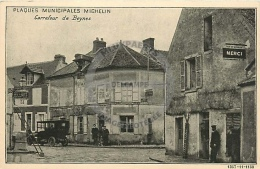 /! 4851 - CPA/CPSM  :  78 - Beynes : Plaque Municipale Michelin - Beynes