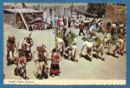PUEBLO INDIAN DANCERS 1984 - Indiani Dell'America Del Nord