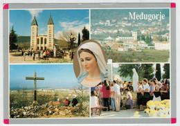 MEDUGORJE      2 SCAN         (VIAGGIATA) - Bosnia Erzegovina