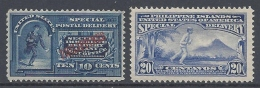 PHILIPPINES 1902/1907 SPECIAL DELIVERY Nº 1/2 - Filippijnen