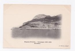 DUGUAY-TROUIN -  CAMPAGNE 1905-1906  - GIBRALTAR - Gibraltar