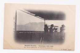 DUGUAY-TROUIN -  CAMPAGNE 1905-1906  - EN VUE DE GIBRALTAR - LE BOUT DE LA PASSERELLE - Gibraltar