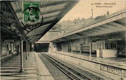 CPA PARIS Métropolitain Station St- Jacques P. Marmuse (676302) - Métro Parisien, Gares