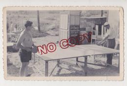 Au Plus Rapide Ping Pong Années 50 Homme Torse Nu Lei Cigalo épicerie - Sports