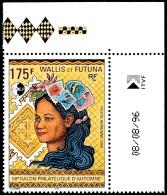 WALLIS ET FUTUNA 1996 - Yv. PA 195 ** SUP Cdf Daté  Faciale= 1,47 EUR - Salon Philatélique D'Automne, à Paris  ..Réf.W&a - Luftpost