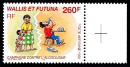 WALLIS ET FUTUNA 1996 - Yv. PA 196 ** SUP Bdf Croix Repère  Faciale= 2,18 EUR - Campagne Contre L'alcoolisme  ..Réf.W&am - Luftpost