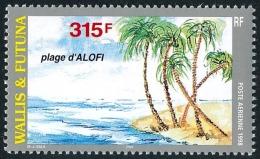 WALLIS ET FUTUNA 1998 - Yv. PA 203 ** SUP  Faciale= 2,64 EUR - Plage D'Alofi  ..Réf.W&F21960 - Luftpost
