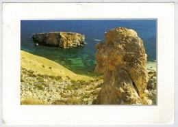 MALTA    THE  MALTESE  ISLAND THROUGH THE EYES OF  TED  ATTARD       2 SCAN         (VIAGGIATA) - Malta
