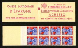 FRANCE - CARNET YT 1234 C1 - MARIANNE A LA NEF - S01-60 - CARNET DE 8 TIMBRES ** - Carnets