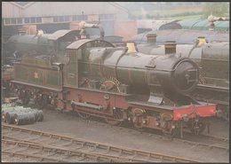Great Western Railway City Class 4-4-0 No 3440 City Of Truro - Steam Classic Postcard - England