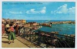 MALTA - VALLETTA    GRAND  HARBOUR  FROM UPPER  BARRACCA        2 SCAN         (NUOVA) - Malta