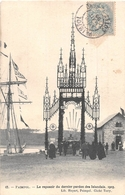 ¤¤  -   PAIMPOL    -   Le Reposoir Du Dernier Pardon Des Islandais En 1903  -  Le Batiment Des Ponts Et Chaussées - Paimpol