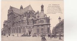 CPA - 114. PARIS (1er Arrond) - Eglise St Eustache - Chiese