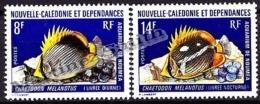 New Caledonia - Nouvelle Calédonie  1973 Yvert 387-88, Fishes, Aquarium Of Nouméa - MNH - Nouvelle-Calédonie