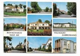 ROVAGNASCO - SALUTI DAL VILLAGGIO AMBROSIANO  - VIAGGIATA  FG - Milano (Milan)