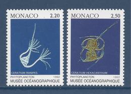 Monaco - YT N° 1850 Et 1851 - Neuf Sans Charnière - 1992 - Monaco