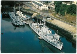 CP BREST - Escorteur Rapide BOULONNAIS Et BORDELAIS - Photo Y. R. CAOUDAL N°218 - Warships