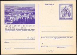 Austria/Autriche:  Intero, Stationery, Entier, Luogo Di Cura, Place Of Care, Lieu De Soins - Salute