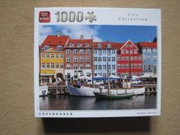 PUZZLE KING (1000 P) - CITY COLLECTION - COPENHAGEN - Puzzles