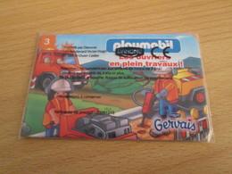A Prix Cassé !!! 1 JEU / JOUET PUBLICITAIRE PLAYMOBIL GERVAIS - Playmobil