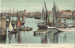 Les Sables-d'Olonne - Le Port, Vu De La Chaume - Sables D'Olonne