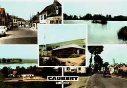 CPSM Dentelée  -     (80)      CAUBERT    -  Multivues - Francia