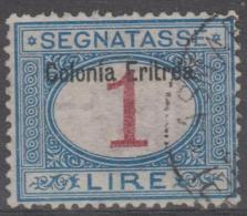 ERITREA - 1903 1L Postage Due. Scott J8. Used - Eritrea