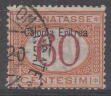 ERITREA - 1903 60c Postage Due. Scott J7. Used - Eritrea