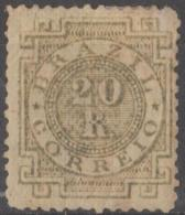 BRAZIL - 1884 20r Numeral. Scott 87. Mint * - Ongebruikt