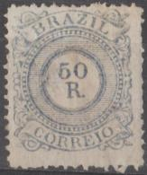 BRAZIL - 1887 50r Numeral. Scott 93. Mint * - Ongebruikt