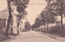 Longlier Avenue De La Gare Circulée En 1936 - Neufchâteau