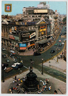 LONDON     PICCADILLY  CIRCUS              2 SCAN     (VIAGGIATA) - Piccadilly Circus