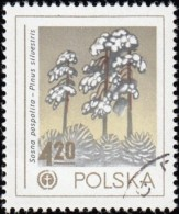 POLAND - Scott #2279 Protection Of The Environment, Scotch Pine (*) / Used Stamp - Protezione Dell'Ambiente & Clima