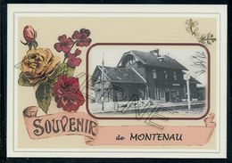 MONTENAU  ... Gare Souvenir Creation Moderne Serie Limitee - België