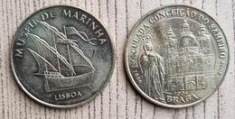 Lot De 2 Médailles Du Portugal - Monnaie De Paris
