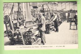 ROUBAIX - Usine Motte Bosnet - Fabrication Du Tissu - Les Métiers à Tisser -  TBE - 2 Scans - Roubaix