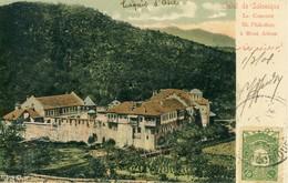 Salut De Salonique  Le Couvent St. Philothée à Mont Athos  Cpa - Greece