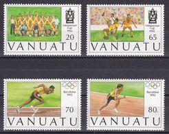 VANUATU 1992 - OLYMPICS BARCELONA 92 - YVERT Nº 891-894 - MICHEL 893-896 - SCOTT 569-572 - Verano 1992: Barcelona