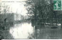 N°61621 -cpa Romilly Sur Seine -un Coin De Béchère- - Romilly-sur-Seine
