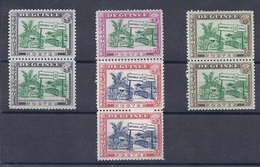 180027955  GUINEA  YVERT  Nº  213/6  **/MNH - Guinea Francesa (1892-1944)