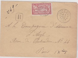 LSC - REC N°119 OBL. PRECY-S/OISE 4 MARS 03 - Marcophilie (Lettres)