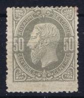 Belgium:  OBP Nr 35  MH/* Flz/ Charniere 1869  Has Small Thins - 1869-1883 Léopold II