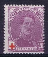 Belgium:  OBP Nr 131  Postfrisch/neuf Sans Charniere /MNH/** 1914 - 1914-1915 Croix-Rouge