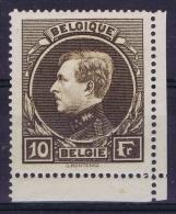 Belgium:  OBP Nr 289 Postfrisch/neuf Sans Charniere /MNH/**   Cornermargin - 1929-1941 Big Montenez