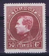 Belgium:  OBP Nr 291 MH/* Flz/ Charniere  Perfo 14,50 - 1929-1941 Big Montenez