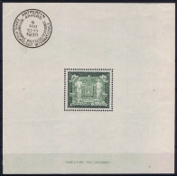 Belgium:  OBP Nr 2 MH/* Flz/ Charniere  Very Light Hinged 1930 Philatelic Exposition 136 * 136 Mm - Blocks & Kleinbögen 1924-1960